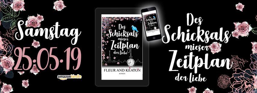 Vorankündigung, Neuerscheinung, Maja Keaton, Julie Fleur, Ds Schicksals mieser Zeitplan der Liebe