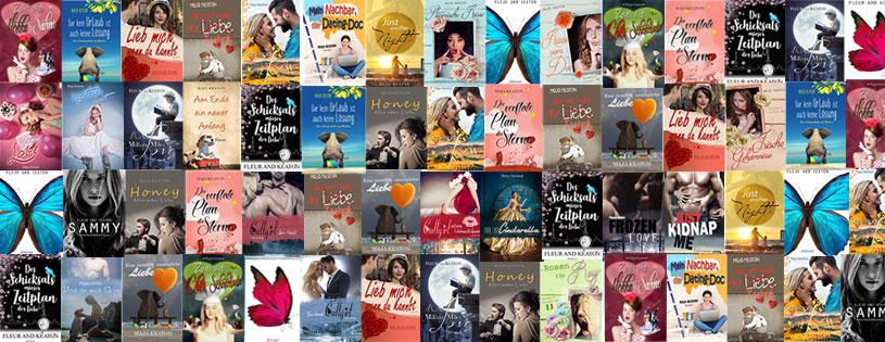 Romane, Liebesromane und romantische Komödien von Maja Keaton